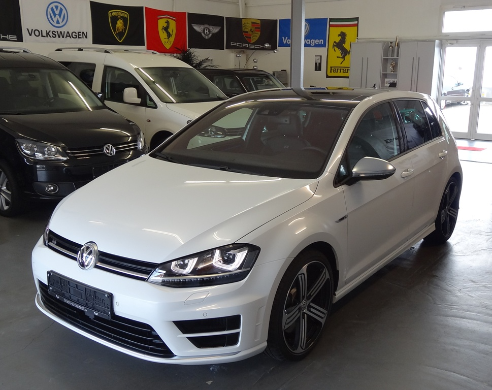 VW Golf R, 4Motion