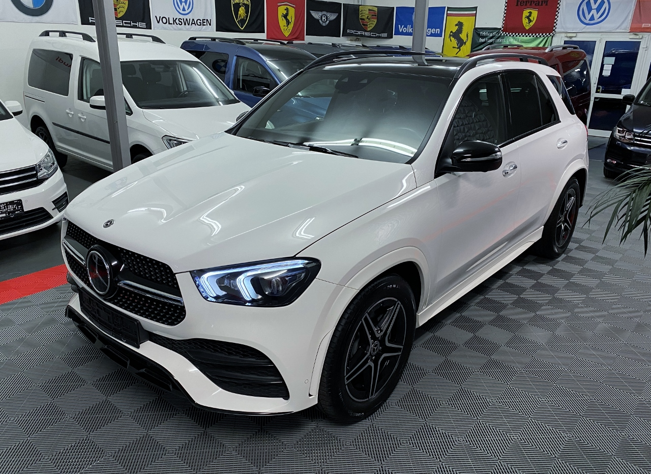 GLE AMG Line weiss